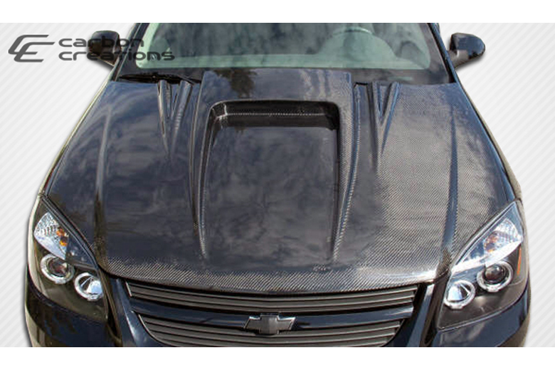 2007 Pontiac G5 Carbon Creations Spyder 3 Hood