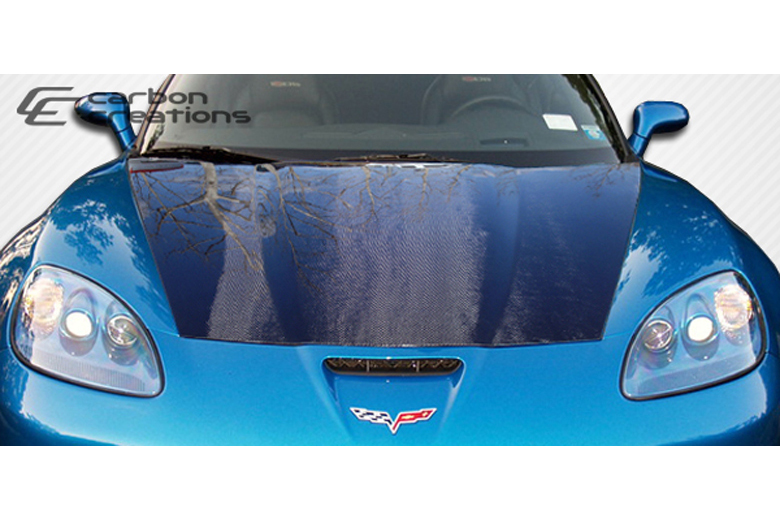 2008 Chevrolet Corvette Carbon Creations Hood