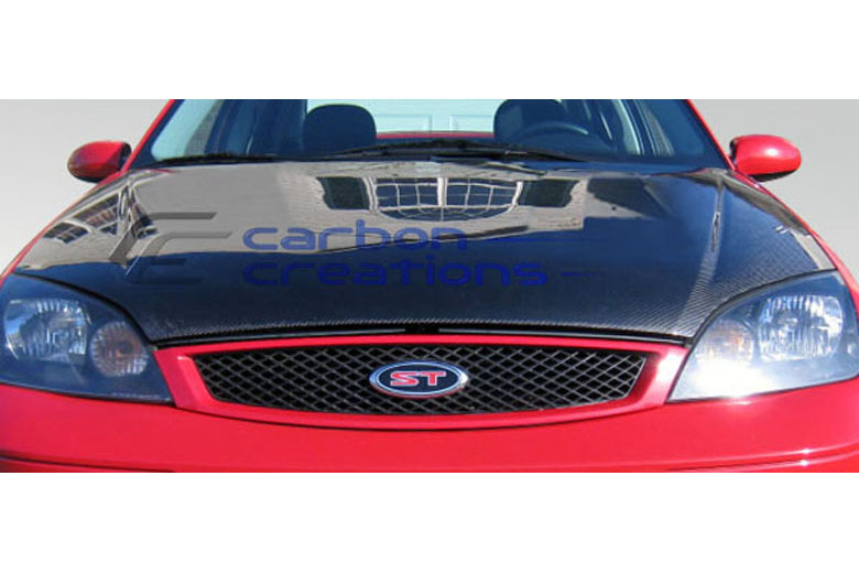 2006 Ford Focus Carbon Creations Hood