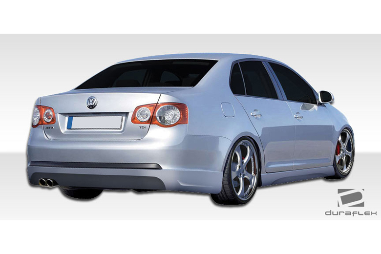 2010 Volkswagen Jetta Duraflex Executive Rear Lip (Add On)