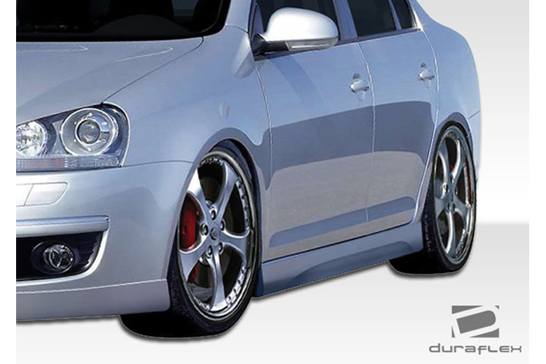 2008 Volkswagen Rabbit Duraflex Executive Sideskirts