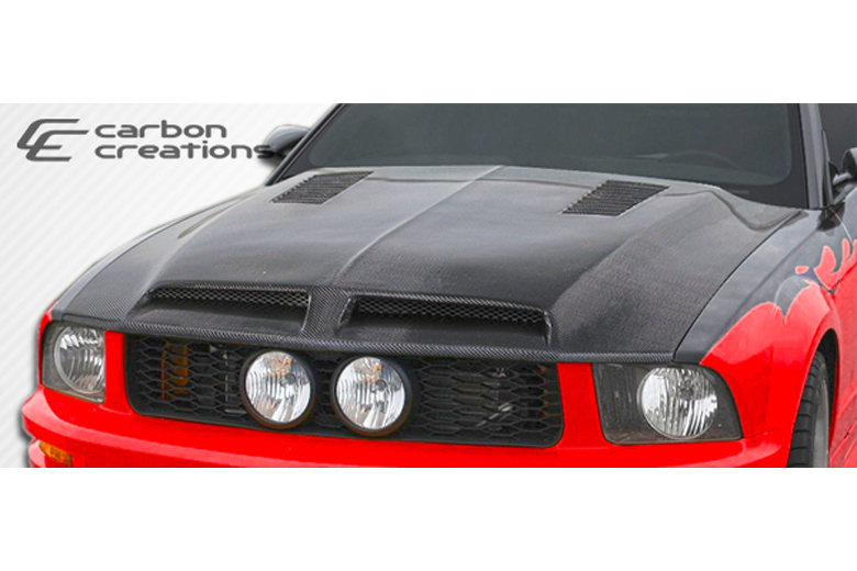 2006 Ford Mustang Carbon Creations GT500 Hood