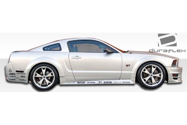 2010 Ford Mustang Duraflex GT500 Sideskirts