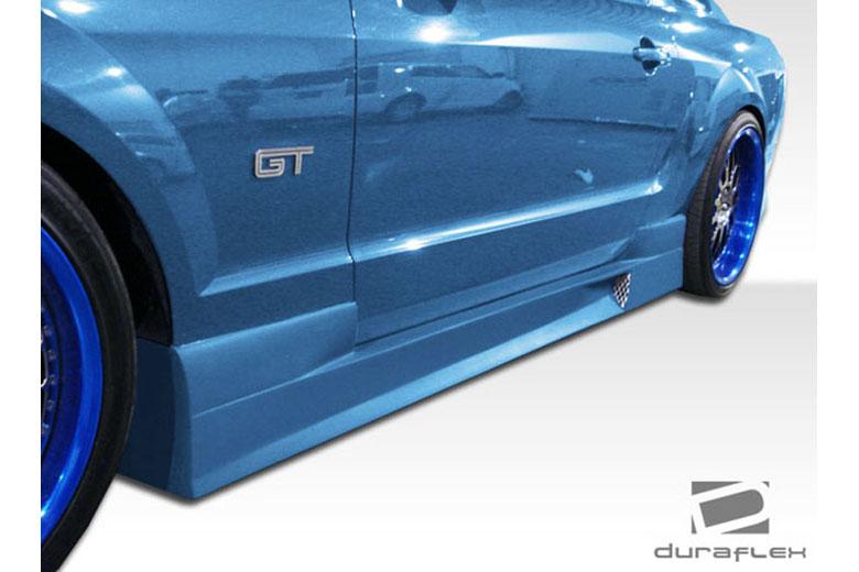 2010 Ford Mustang Duraflex GT Concept Sideskirts