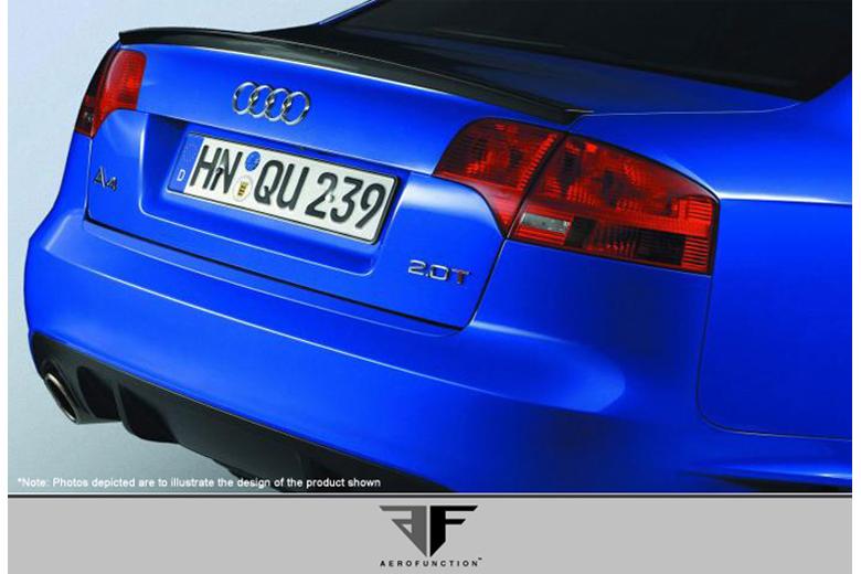 2008 Audi S4 Aero Function AF-1 Spoiler