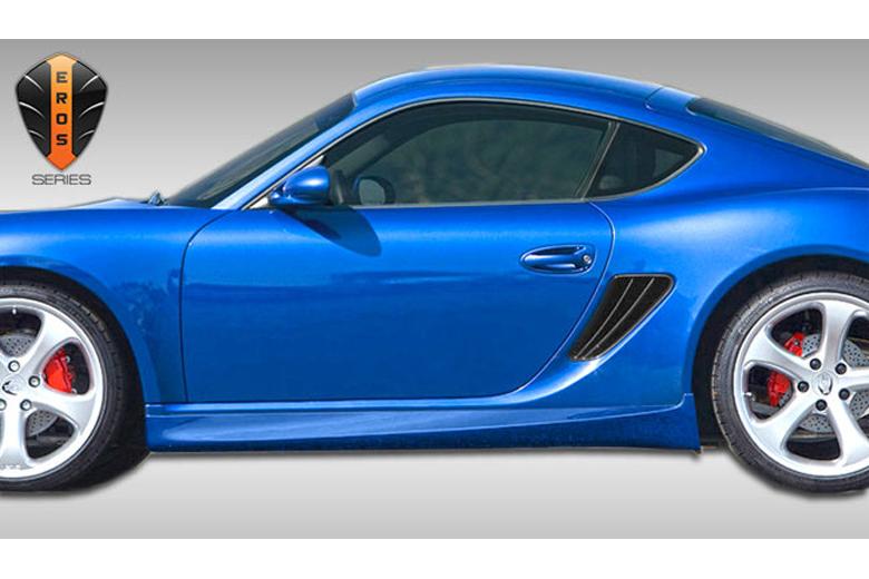2013 Porsche Cayman Duraflex Eros Version 1 Sideskirts