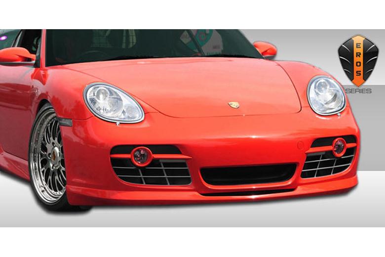 2013 Porsche Cayman Duraflex Eros Version 2 Front Lip (Add On)
