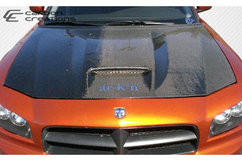 2010 Dodge Charger Carbon Creations SRT Look Hood