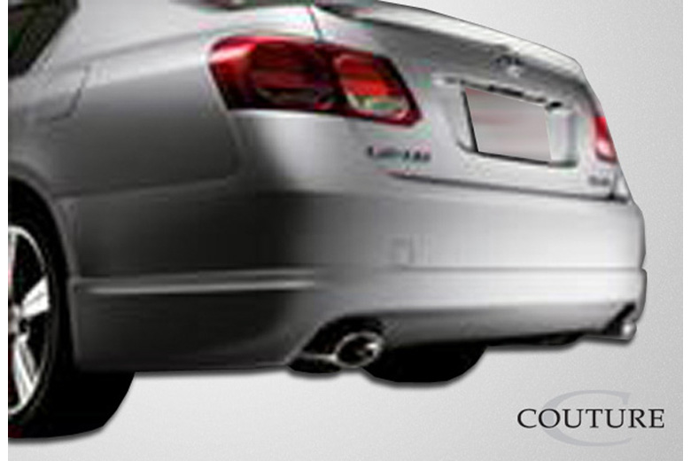 2007 Lexus GS Couture J-Spec Rear Lip (Add On)