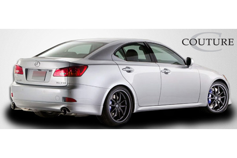 2007 Lexus IS Couture J-Spec Rear Lip (Add On)