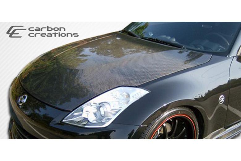 2007 Nissan 350Z Carbon Creations Hood