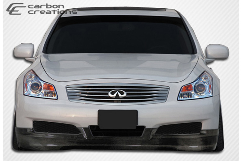 2007 Infiniti G Sedan Carbon Creations GT Spec Front Lip (Add On)