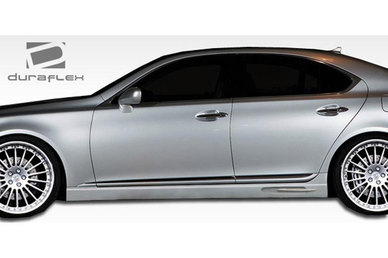 2007 Lexus LS Duraflex W-1 Sideskirts