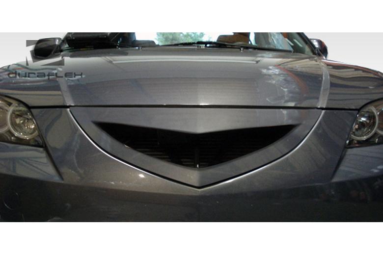 2009 Mazda Mazda3 Duraflex Open Mouth Grill