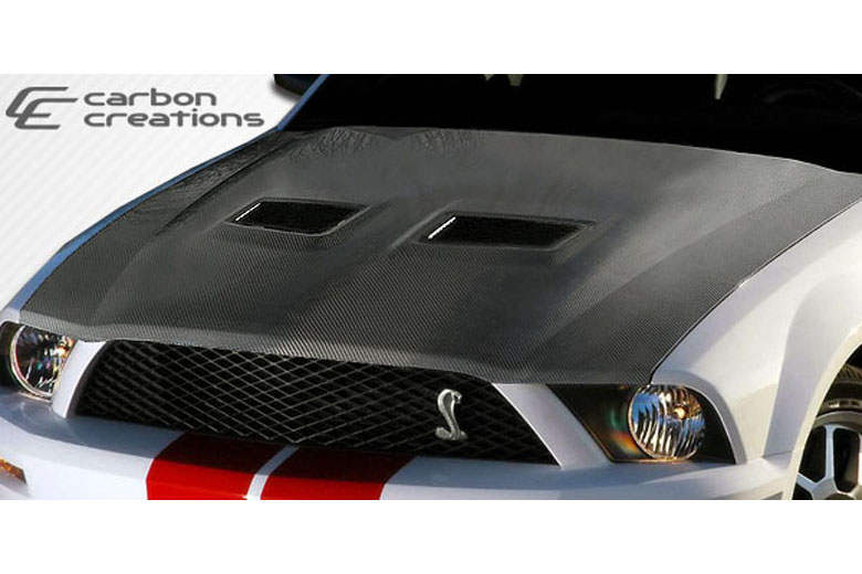2006 Ford Mustang Carbon Creations Hood