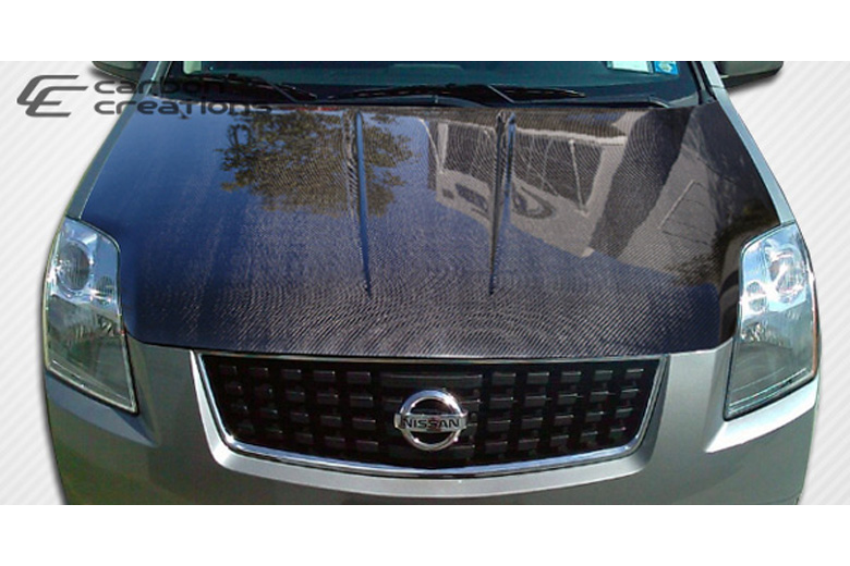 2012 Nissan Sentra Carbon Creations Hood