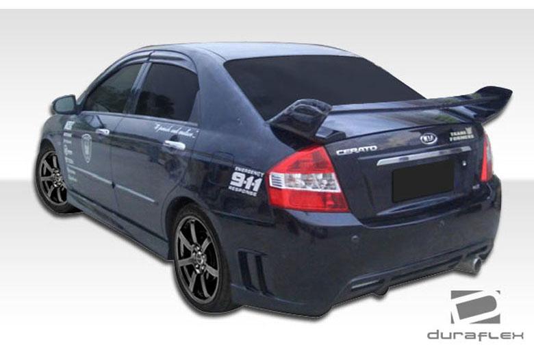 2009 Kia Spectra Duraflex Edan Bumper (Rear)