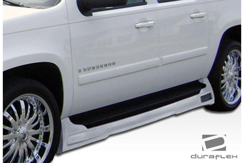 2010 Chevrolet Suburban Duraflex Platinum Sideskirts
