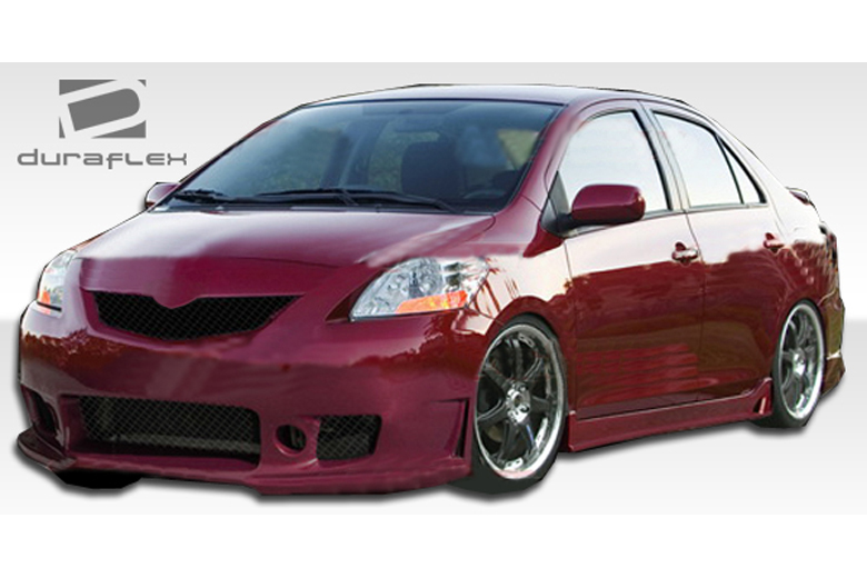2009 Toyota Yaris Duraflex B-2 Body Kit