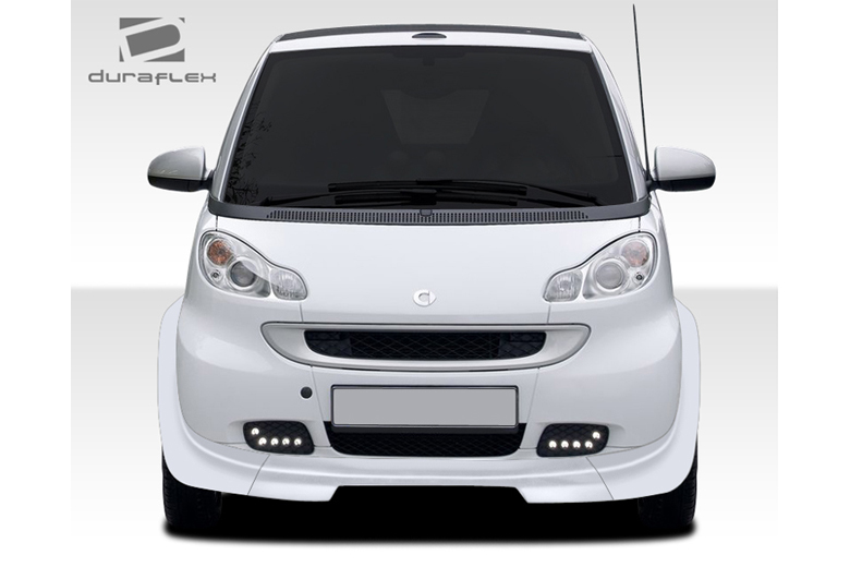 2009 Smart ForTwo Duraflex GT300 Front Lip (Add On)