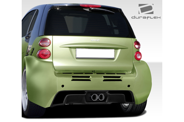 2010 Smart ForTwo Duraflex GT300 Bumper (Rear)