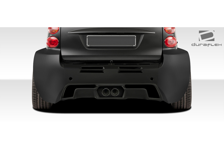 2009 Smart ForTwo Duraflex GT300 Rear Lip (Add On)