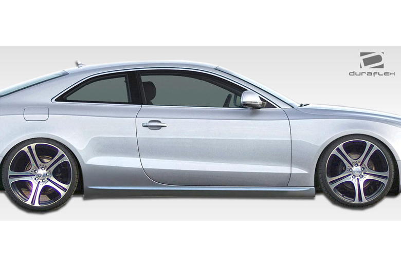 2009 Audi S5 Duraflex S5 Look Sideskirts