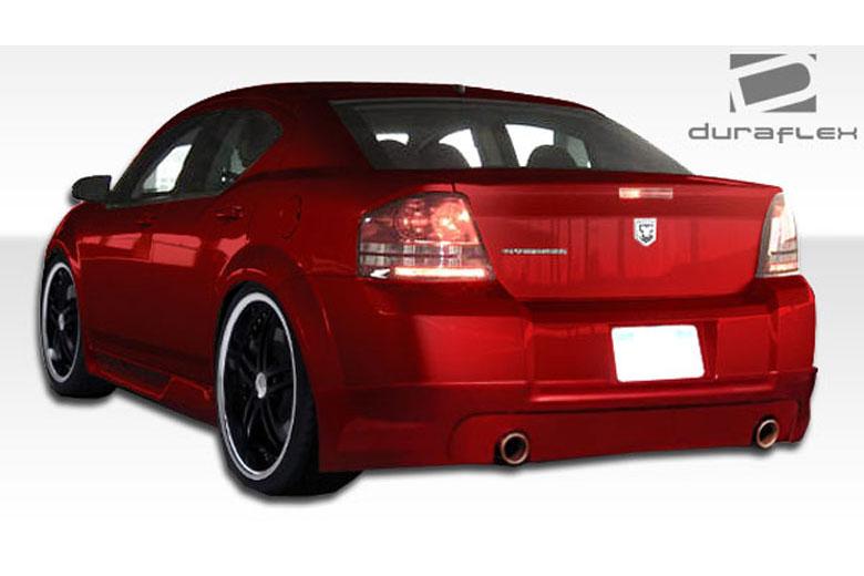 2010 Dodge Avenger Duraflex Racer Rear Lip (Add On)