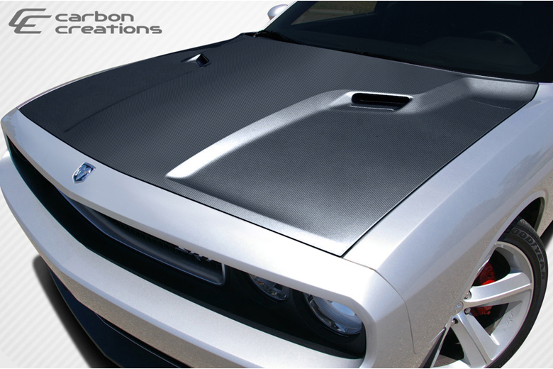 2008 Dodge Challenger Carbon Creations SRT Look Hood