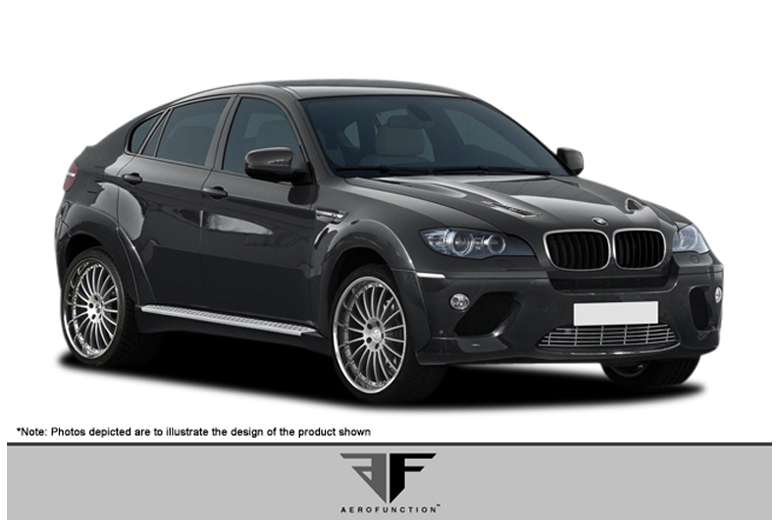 2012 BMW X6 Aero Function AF-1 Body Kit