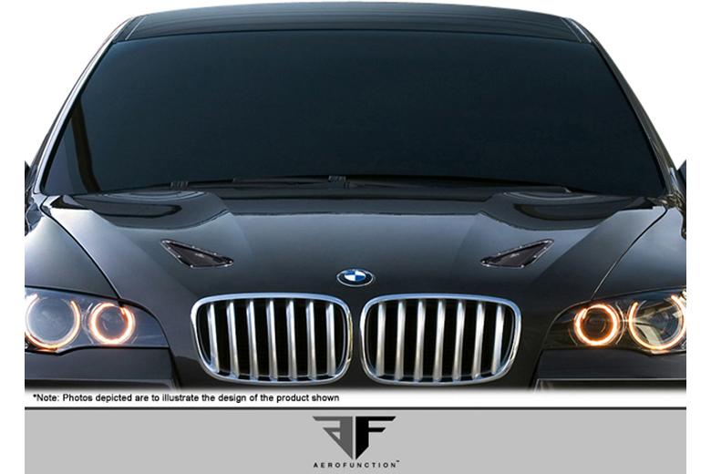 2009 BMW X6 Aero Function AF-1 Hood Vents