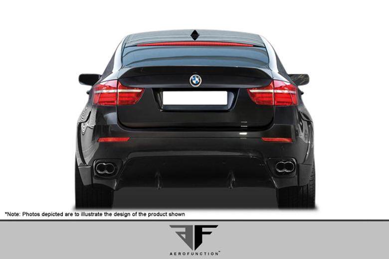 2009 BMW X6 Aero Function AF-1 Rear Lip (Add On)