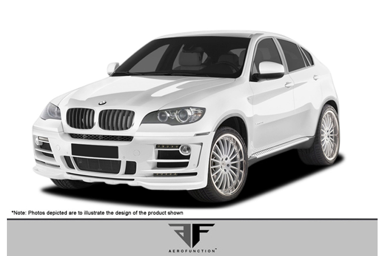 2012 BMW X6 Aero Function AF-2 Body Kit