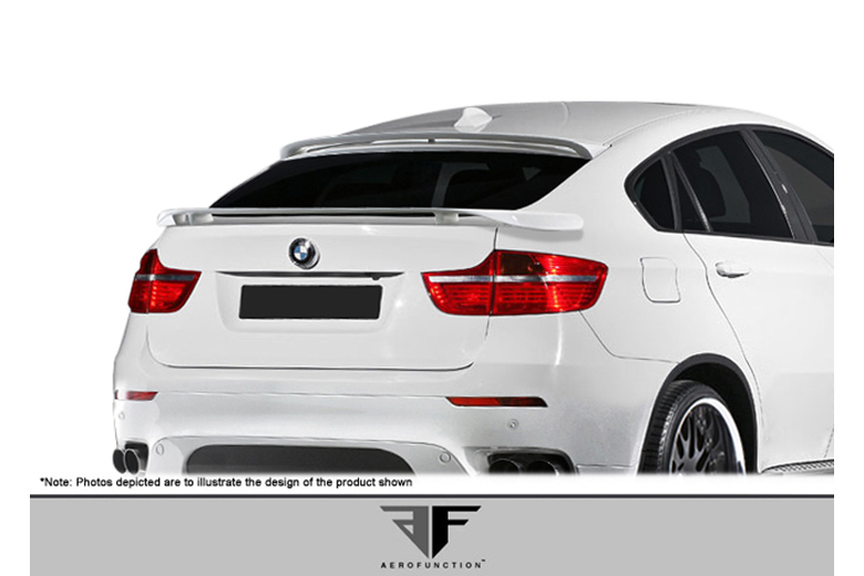 2009 BMW X6 Aero Function AF-2 Spoiler