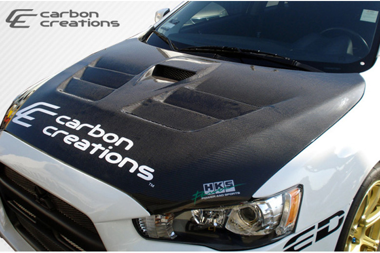 2009 Mitsubishi Evolution Carbon Creations GT Concept Hood