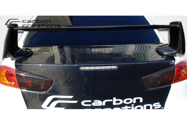 2009 Mitsubishi Evolution Carbon Creations GT Concept Spoiler