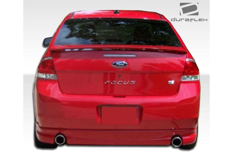 2010 Ford Focus Duraflex Racer Rear Lip (Add On)