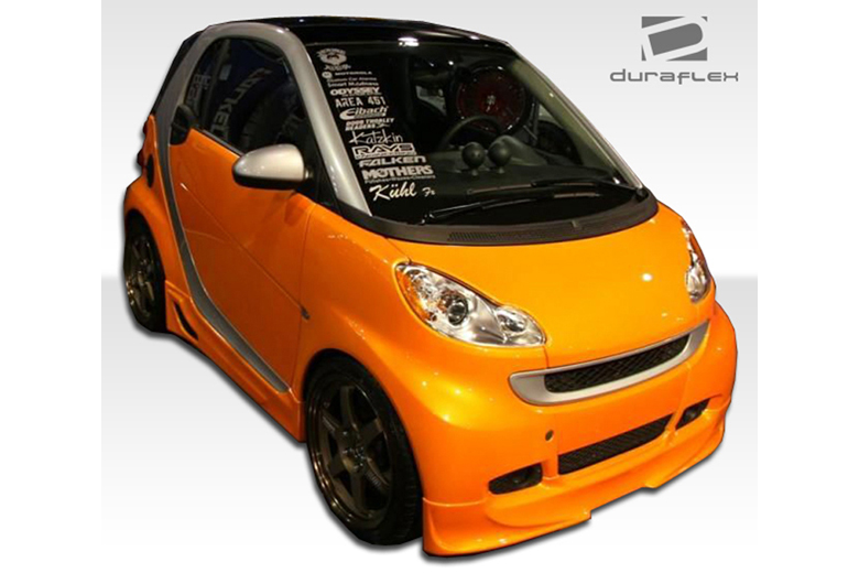 2009 Smart ForTwo Duraflex FX Front Lip (Add On)