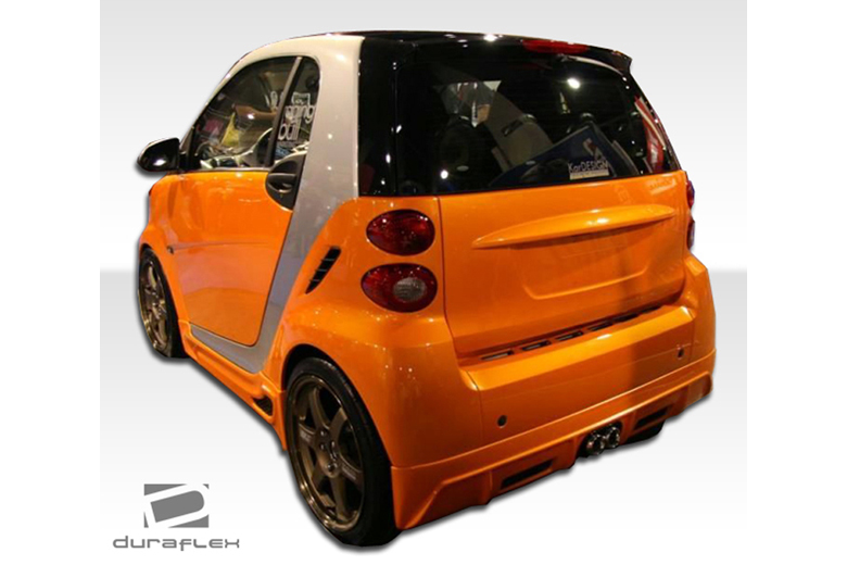 2009 Smart ForTwo Duraflex FX Rear Lip (Add On)