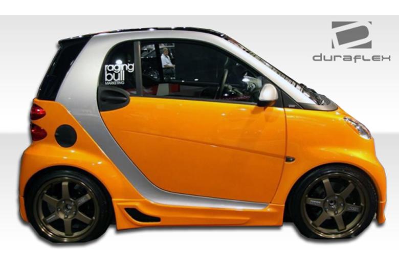 2010 Smart ForTwo Duraflex FX Sideskirts