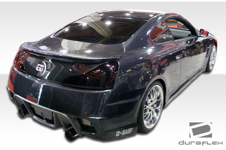 2010 Infiniti G Coupe Duraflex GT Concept Bumper (Rear)