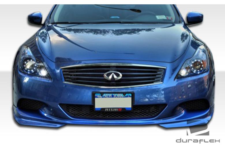 2010 Infiniti G Coupe Duraflex J-Spec Front Lip (Add On)