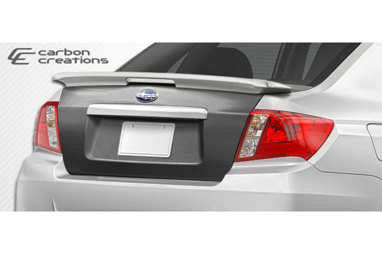 2010 Subaru WRX Carbon Creations Trunk / Hatch
