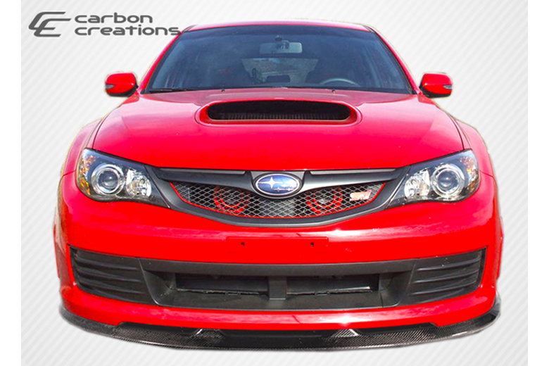 2010 Subaru WRX Carbon Creations GT Spec Front Lip (Add On)