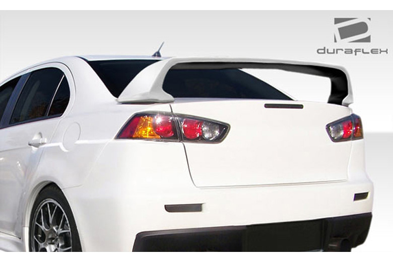 2012 Mitsubishi Evolution Duraflex Evo X Look Spoiler