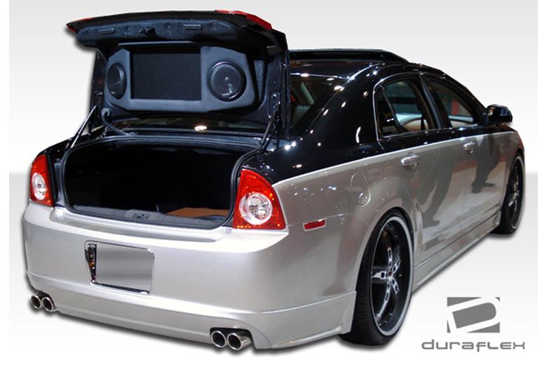 2009 Chevrolet Malibu Duraflex Racer Rear Lip (Add On)