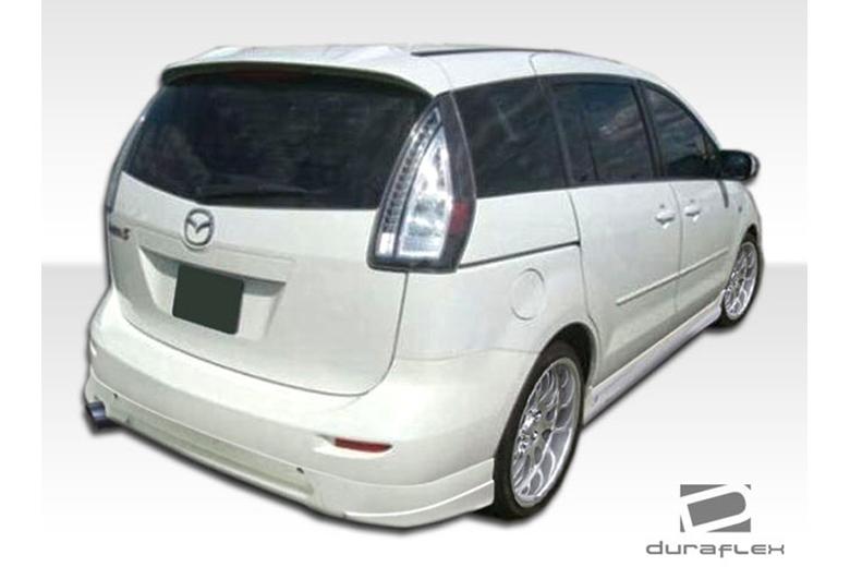 2008 Mazda Mazda 5 Duraflex A-Spec Rear Lip (Add On)