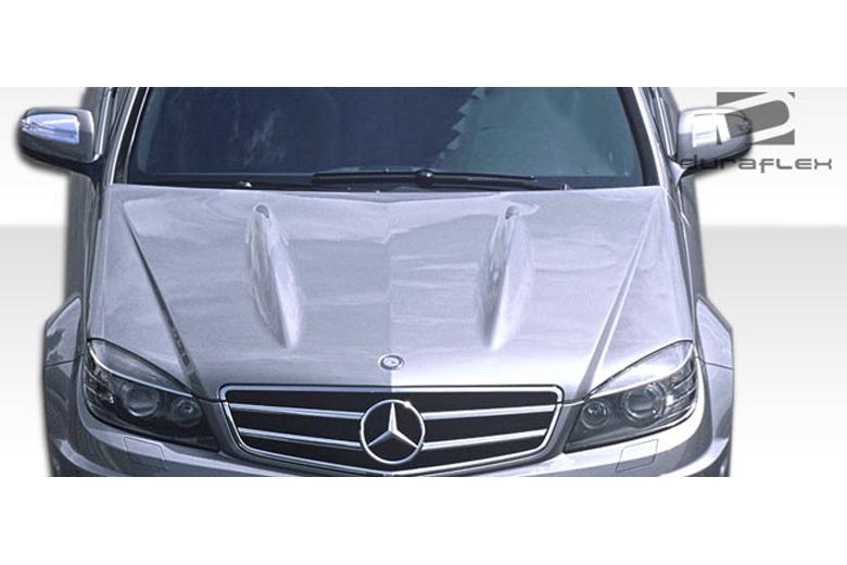 2010 Mercedes C-Class Duraflex C63 Look Hood