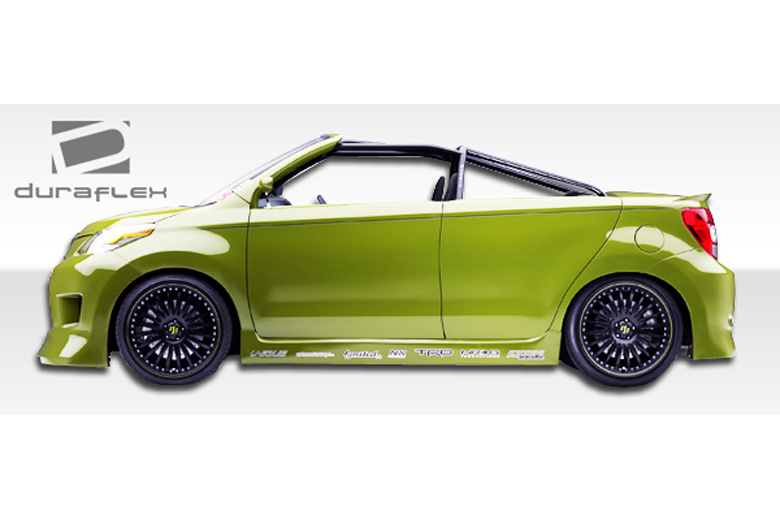 2013 Scion xD Duraflex GT Concept Sideskirts