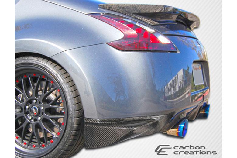 2012 Nissan 370Z Carbon Creations N-1 Rear Lip (Add On)